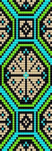 Схемы браслетов - станочное ткачество 2