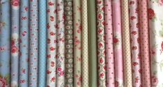 REDUCED FROM £12.99 Cath Kidston fabric 18 piece bundles 100% cotton 25cm square Cath Kidston Fabric, Fabric Strips, Cotton Fabric, Fabrics, Stuff To Buy, Ebay, Scrappy Quilts, Tejidos, Cotton Textile
