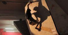 Man at the Big Biscuit Boulder Comp Rock Climbing Gym, Bouldering, Biscuit, Big, Decor, Decoration, Crackers, Decorating, Biscuits