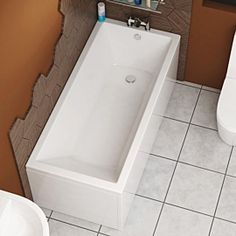 Cesar AcrylicSquareSingle Ended Straight Bathtub 1500 x 700mm - Include Bath PanelThis modern bath is specialy designed for your family bathroom. Made from high quality 6mm thick acrylic material, a solid encapsulated base board, and also reinforce Bathroom Suites Uk, Cloakroom Suites, Toilet Suites, Bath Front Panel, Bath Panel, Bifold Shower Door, Shower Doors, Straight Baths, Quadrant Shower Enclosures