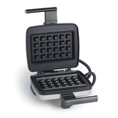 Up your waffle-making game.    This high-performance nonstick waffle maker is the top of the line. Two interchangeable plates let you experiment with thick stuffed Belgian waffles or caramelized liège waffles.         Watch the video