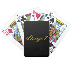 Bicycle Playing Cards - fun gifts funny diy customize personal