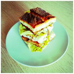 Pranzo veloce con un Double #Tempeh Burger! #vegan #sandwich