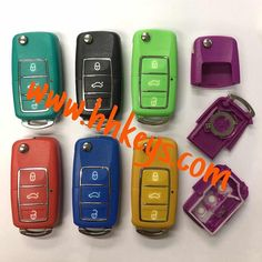 KD Remote ShellRemote Duplicator Cover. Waterproof. 7 colors.  2color injection button. #hhkeys #carkey #kdremote #no blade