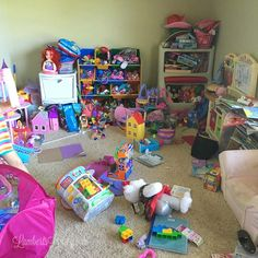 The Ten Rules that Organized Our Playroom