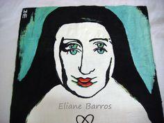 pintura em tecido, por Eliane Barros