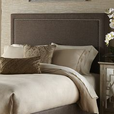 FREE SHIPPING! Shop Wayfair for PRI Upholstered Headboard - Great Deals on all Furniture products with the best selection to choose from!