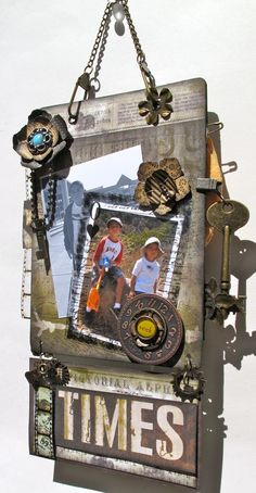 """Tim Holtz Projects   Tim Holtz & Graphic 45 """"Mag{ic}-netic Mini Board"""" (Bluemoon DT Project ..."""