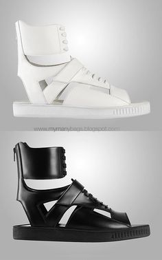 c0a53737f8d4 Givenchy s Spring Summer 2010 Mens Accessories    Riccardo Tisci Shoes  Sandals
