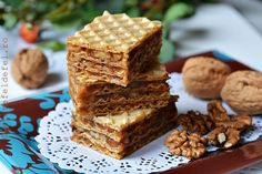 Krispie Treats, Rice Krispies, Waffles, Caramel, Breakfast, Desserts, Rome, Kuchen, Sticky Toffee