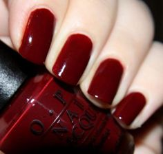 Simple Opi Nail Polish Colors For Winter Style 04 - The most beautiful nail designs Get Nails, Love Nails, How To Do Nails, Pretty Nails, Opi Nail Polish Colors, Nail Colors, Opi Polish, Manicure E Pedicure, Pedicures