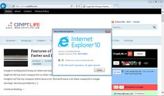 Internet Explorer 10 for Windows 7 is Now Released