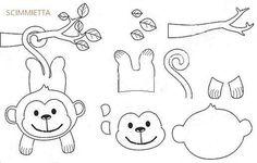 Artesanato em feltro com moldes gratis Artesanato em feltro com moldes gratis - Como Fazer Felt Animal Patterns, Felt Crafts Patterns, Felt Crafts Diy, Stuffed Animal Patterns, Baby Crafts, Paper Crafts, Quiet Book Templates, Felt Templates, Decoration Creche