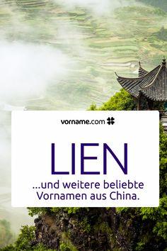 Hier findest Du die beliebtesten Vornamen aus China. Finde Deinen Favorit für Mädchen und Jungen!