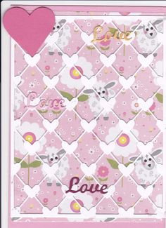Love -and little sheep- lattice hearts die from Poppystamps.