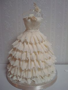 Cake Wrecks - Home - Fashionably Sweet Gorgeous Cakes, Pretty Cakes, Cute Cakes, Awesome Cakes, Wedding Dress Cake, Gorgeous Wedding Dress, Wedding Cakes, Wedding Dresses, Bolo Barbie