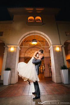 Congratulations to the newlywed couple! Photo Cred: Walter Wilson Studios