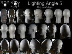 Lighting Angle Ref 5 by Melyssah6-Stock on DeviantArt