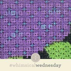 #whimsicalwednesday blog — whimsicalstitch.com String Crafts, String Art, Needlepoint Stitches, Needlework, I Respect You, Brick Colors, Stitch 2, Bargello, Color Lines