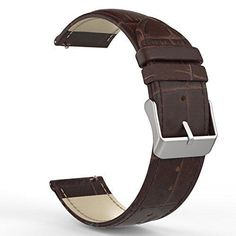 Gear S3 Watch Band Premium Soft Genuine Leather Samsung Gear S3 Frontier Classic #MoKo