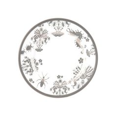 Entomo Bread Plate now featured on Fab for $68/each so to save $$ I'm going to serve bread on white plates with actual bugs on them.