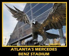 Skyview ferris wheel gives you great views of atlanta and for Mercedes benz plant atlanta ga
