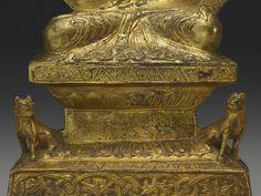 北魏 太和元年 銅鎏金釋迦牟尼佛坐像