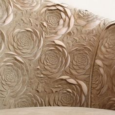 Helen Amy Murray. Scultped leather upholstey
