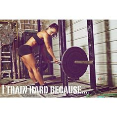 Because I can and I want to be #fit