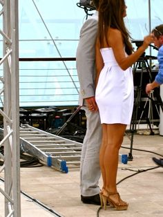Michael Weatherly and Cote de Pablo of NCIS at the 50th Anniversary of The Monte-Carlo Television Festival ~ June 9, 2010 ... Holding hands!! Woop!! Woop!! #TIVA :)