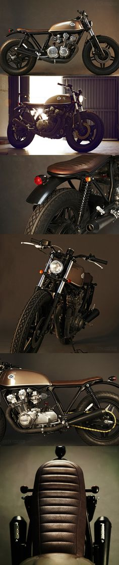 #HONDA CB750 1980 from Spain's Café Racer Dreams