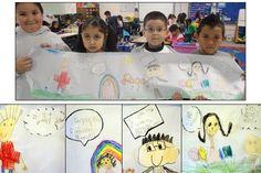 Speech Bubble Writing in PreK and Kindergarten