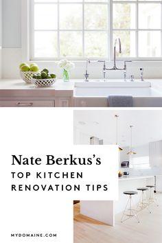 7 kitchen renovation tips from celebrity interior designer Nate Berkus