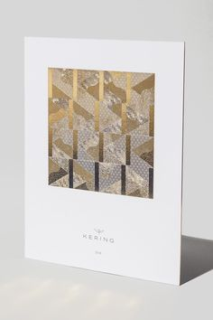 Kering - Carte de voeux - Les Graphiquants -