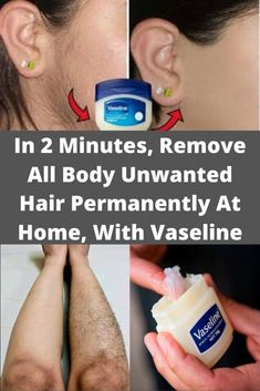 Natural Health Tips, Health And Beauty Tips, Natural Skin Care, Natural Hair Removal, Hair Removal Diy, Permanent Hair Removal, Homemade Hair Removal, Face Hair Removal, Hair Removal Remedies