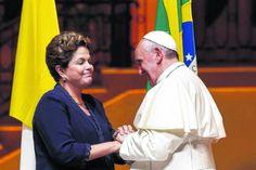 Dilma JA PAPA FRANCISCO