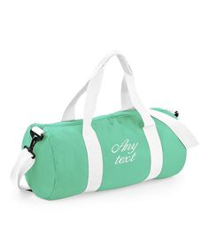 Personalised Holdall Barrel Bag Overnight Gym Travel With Embroidered Names Or Text