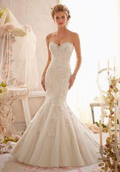 Mori Lee by Madeline Gardner 2623 Wedding Dress - The Knot