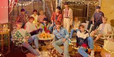 'Seventeen You Make My Day Set The Sun Group Photo' Poster by kpop deals ❤ Wonwoo, Jeonghan, Seungkwan, Make My Day, You Make Me, How To Make, K Pop, Bts Wallpaper Desktop, Laptop Wallpaper