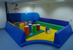 Soft Play area...