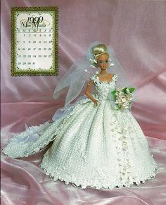 Bridal Dreams Collection 1999 Master Crochet Series Miss March Crochet Pattern Book Annie Potter