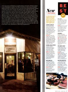 Congratulations to Mission Yogurt, Inc. for their notable mention in this year's 5280 Best New Restaurant issue.
