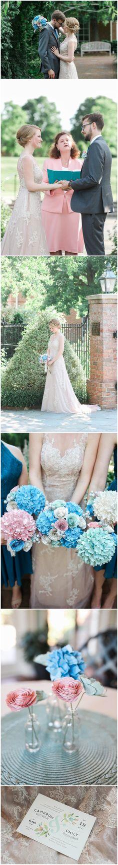 Emily + Cameron - Lewis Ginter Botanical Garden - Richmond Wedding