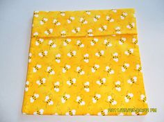 Microwave Baked Potato Bag Yellow Bumble Bees by SusiesUniqueChic, $6.00