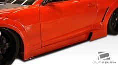 2010-2015 Chevrolet Camaro Duraflex Circuit Wide Body Side Skirts Rocker Panels - 2 Piece