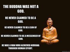 Buddha by effort