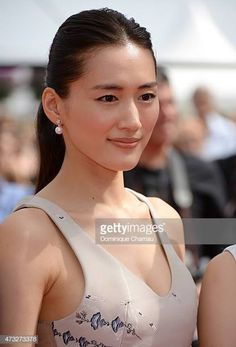 """Actress Haruka Ayase attends the """"Umimachi Diary"""" Premiere during the annual Cannes Film Festival on May 2015 in Cannes, France. Get premium, high resolution news photos at Getty Images Cute Japanese, Japanese Beauty, Asian Beauty, Les Innocents, Becoming An Actress, Celebs, Celebrities, Cannes Film Festival, Beautiful Actresses"""