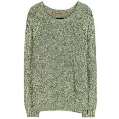 Dear Cashmere Cotton Sweater (421.145 COP) ❤ liked on Polyvore featuring tops, sweaters, shirts, blusas, jumpers, shirts & tops, green sweater, green jumper, green shirt and dear cashmere