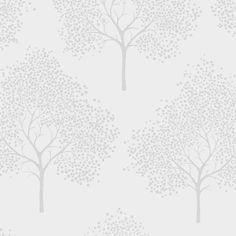 I Love Wallpaper Glitter Tree Wallpaper Soft Grey / Silver Silver Tree Wallpaper, Tree Wallpaper Living Room, Glitter Wallpaper, Love Wallpaper, Pattern Wallpaper, Glitter Paint For Walls, Glitter Room, Simple Tree Tattoo, Pine Tree Tattoo