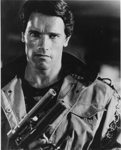 Schwarzenegger in Terminator (1984)